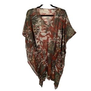 Collection eighteen swimsuit coverup tunic NWOT
